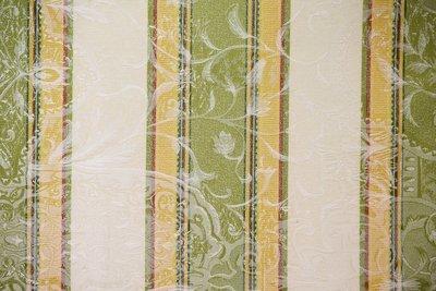 H/T Print Stripe- Lt Sage