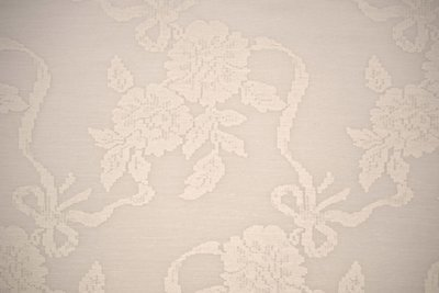 Sheer Flower-White