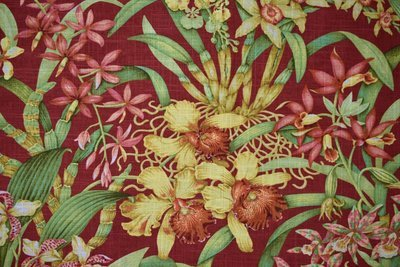 Wild Orchid-Vintage Red
