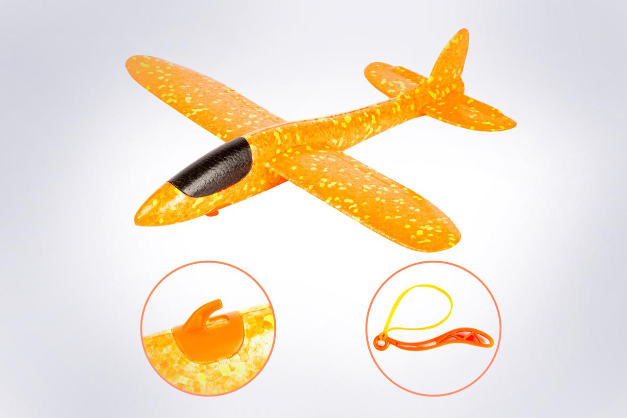 Рогатка оранжевый/дальность полёта 20 м/ размах крыла 40 см/ от 5 лет