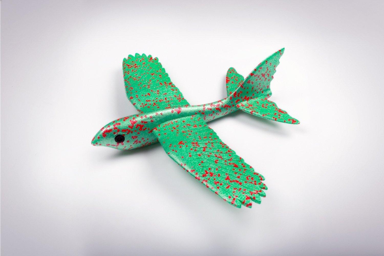 Феникс зелёный/ дальность полёта 25 м/ размах крыла 42 см/ от 5 лет