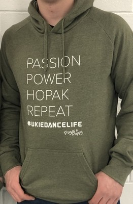 Passion Power Hopak Repeat Hoodie - Unisex