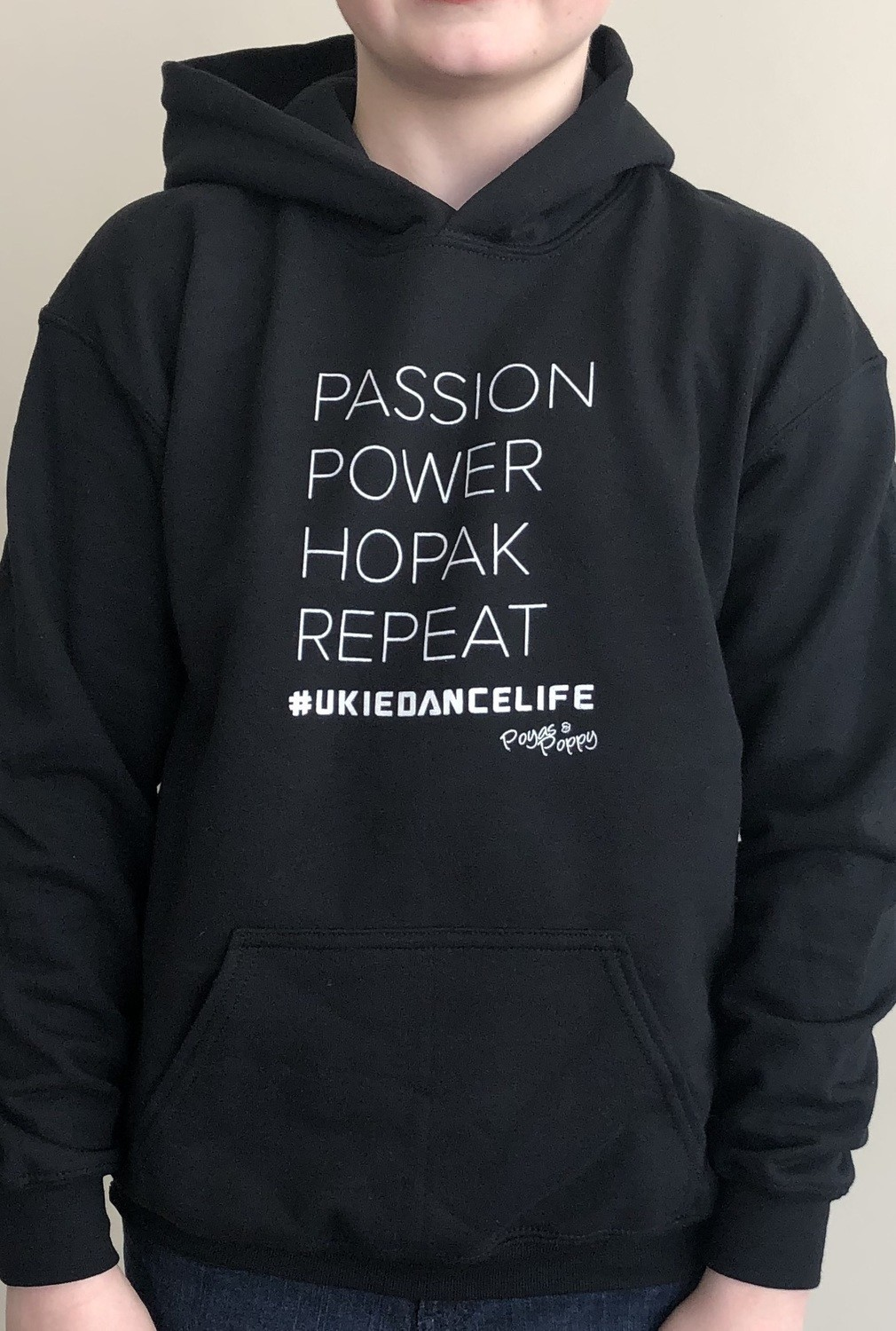 Passion Power Hopak Repeat Youth Hoodie