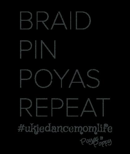 Braid Pin Poyas Repeat Better Fit Ladies Tee