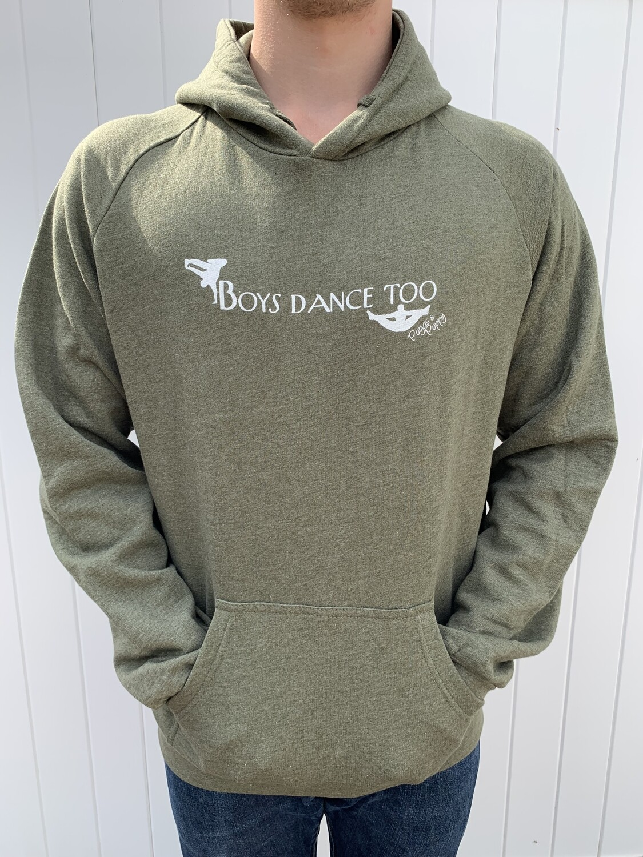 Boys Dance Too Men's Hoodie
