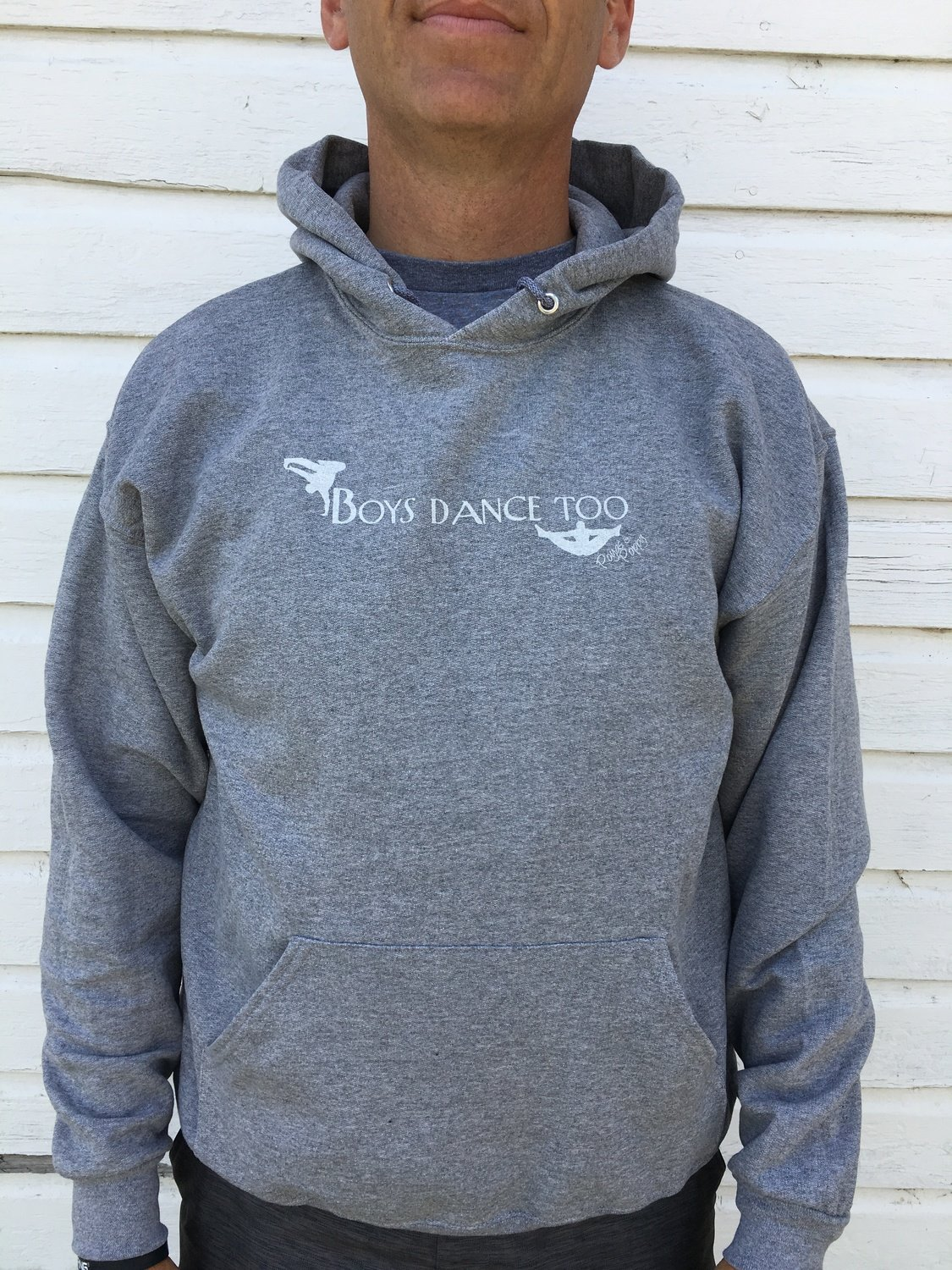 Boys Dance Too Men's Hoodie