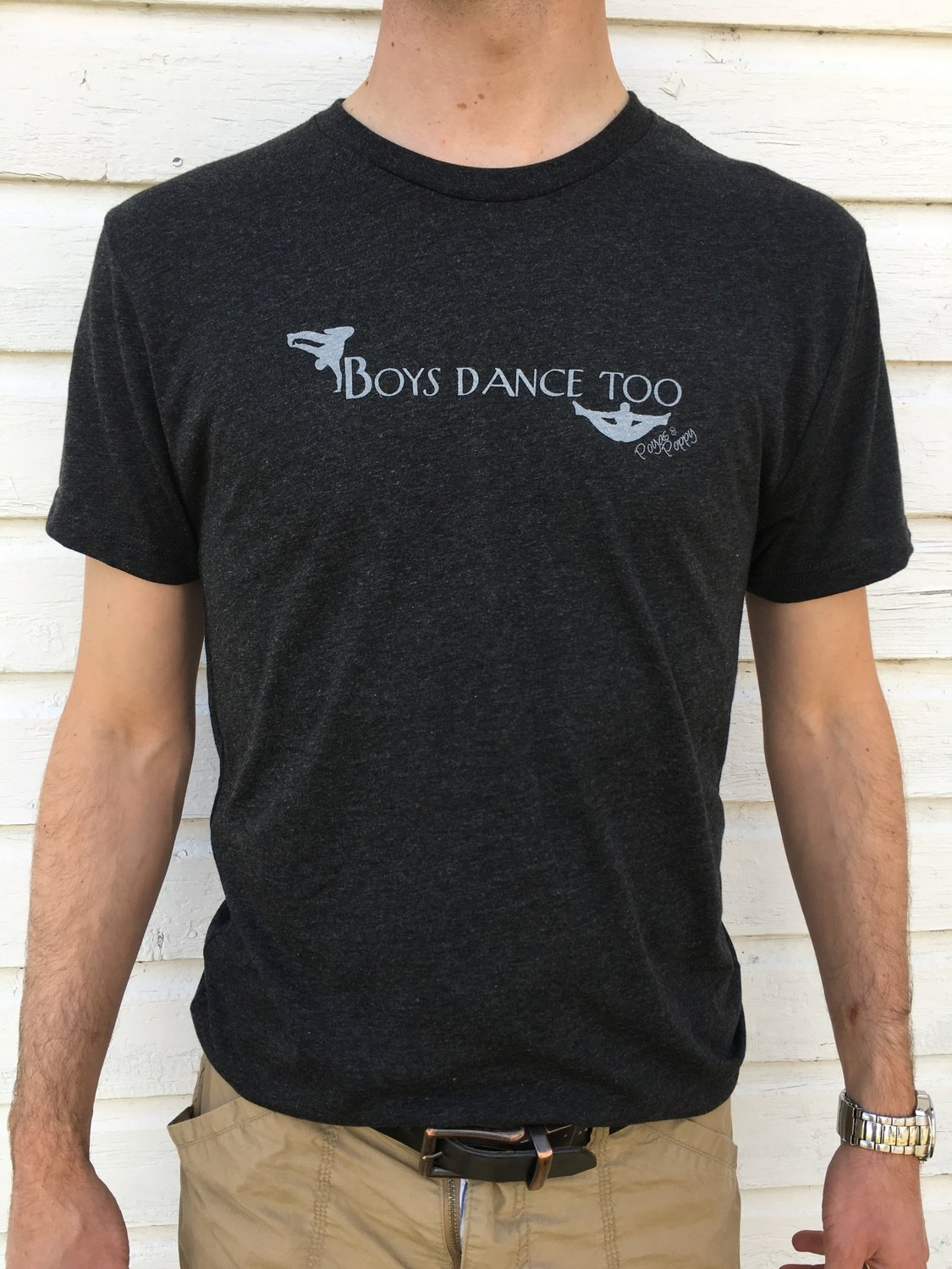 Boys Dance Too Men's Tee