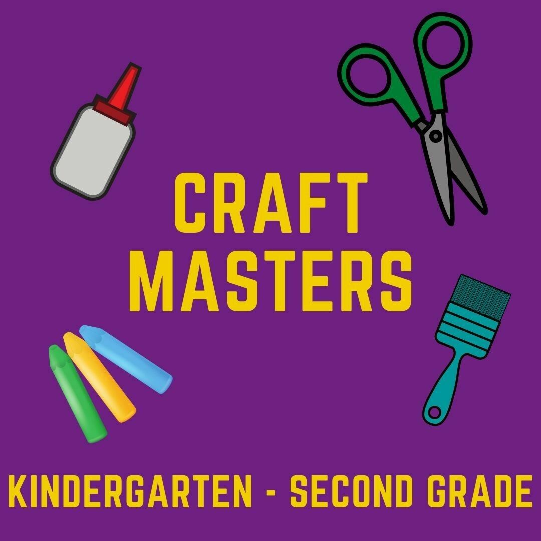 Craft Masters June 29-July 3