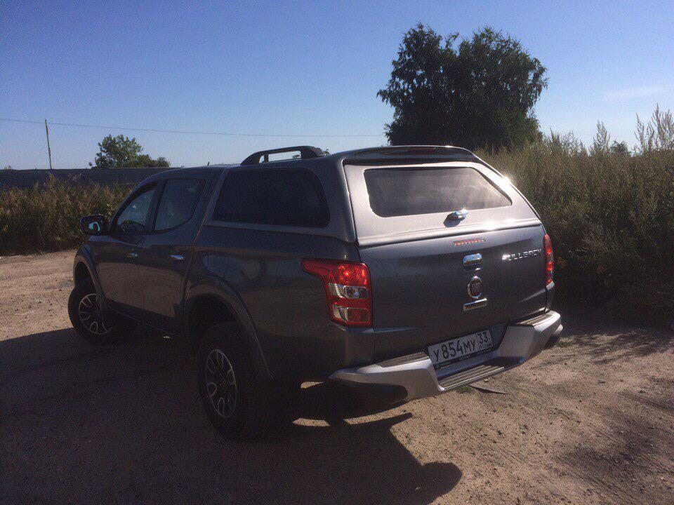 Кунг Mitsubishi L200 2015+ SKAT4