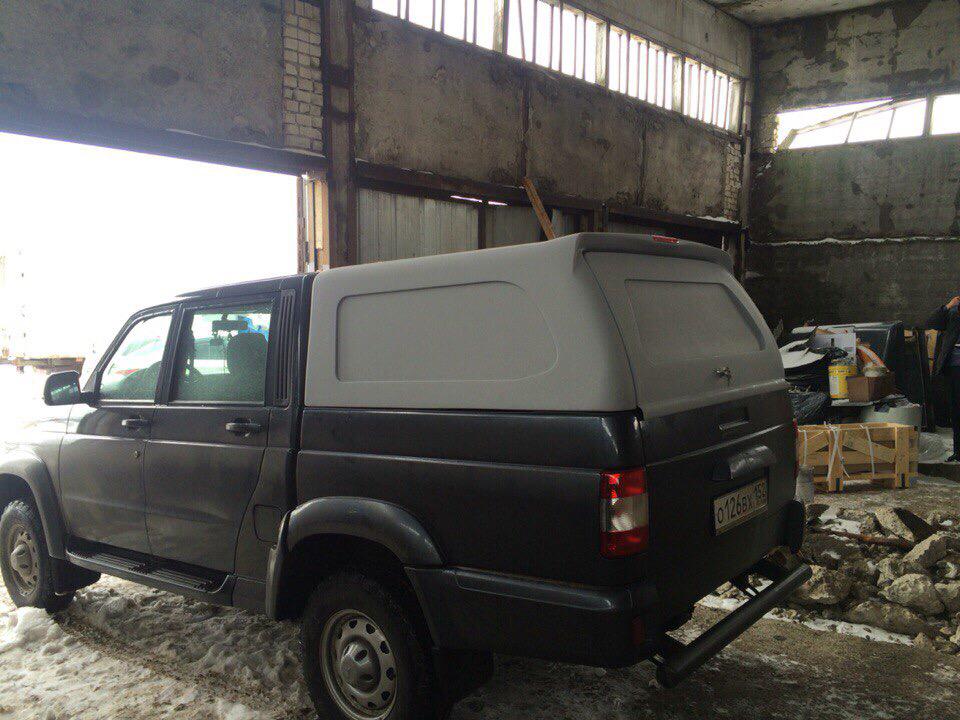 Кунг SKAT1 на УАЗ PickUp 02455