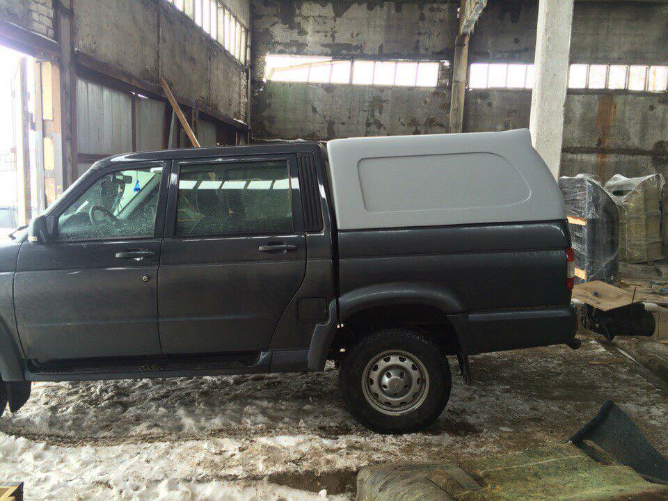 Кунг SKAT1 на УАЗ PickUp