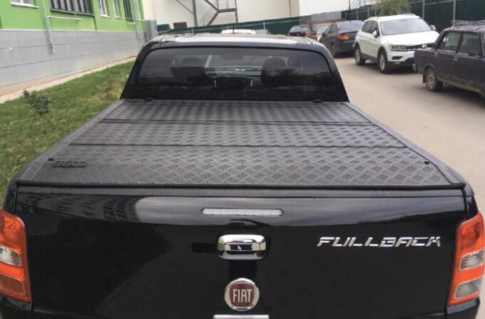 Крышка трехсекционная алюминиевая для Fullback 02475