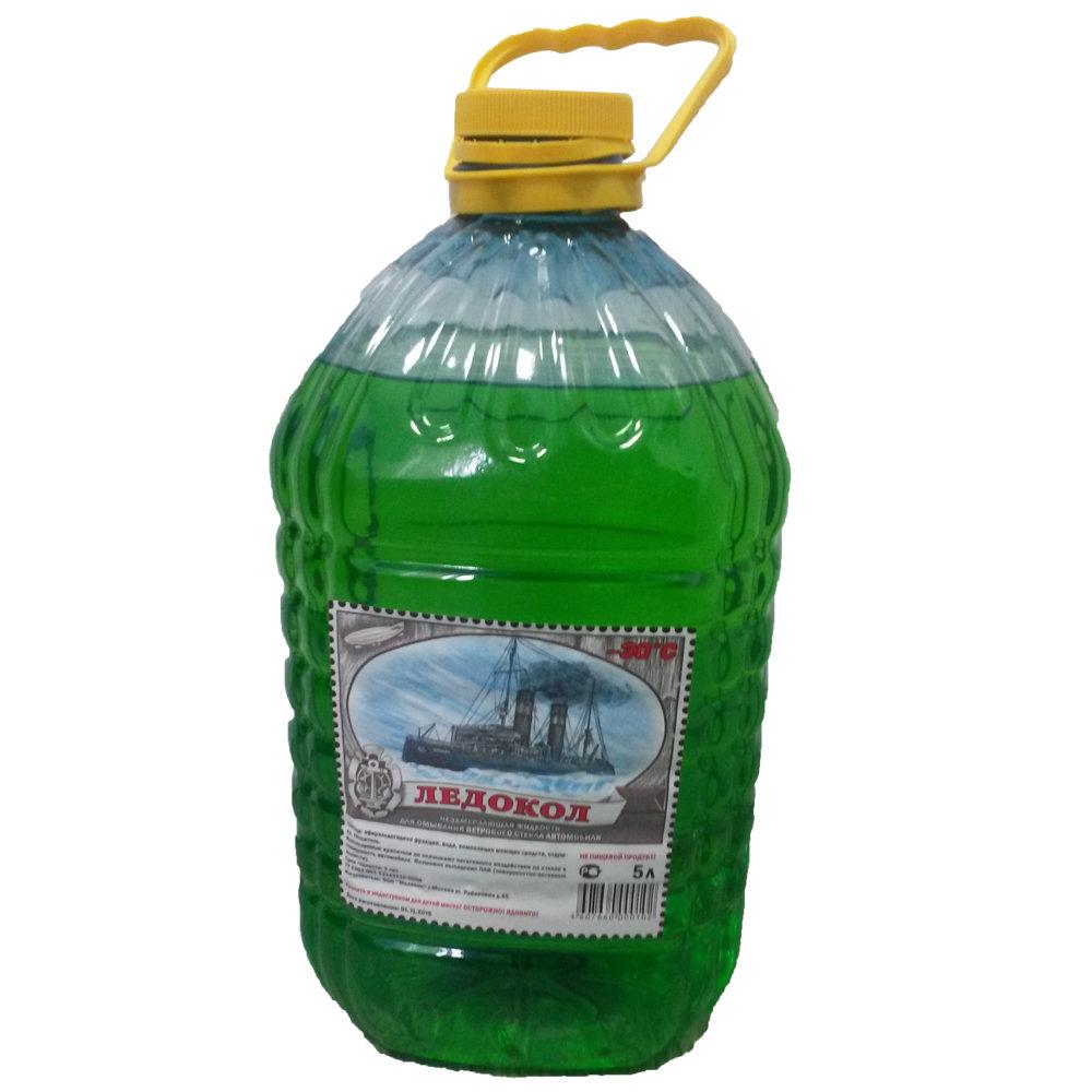 Жидкость стеклоомывающая зимняя Ледокол -30 00000