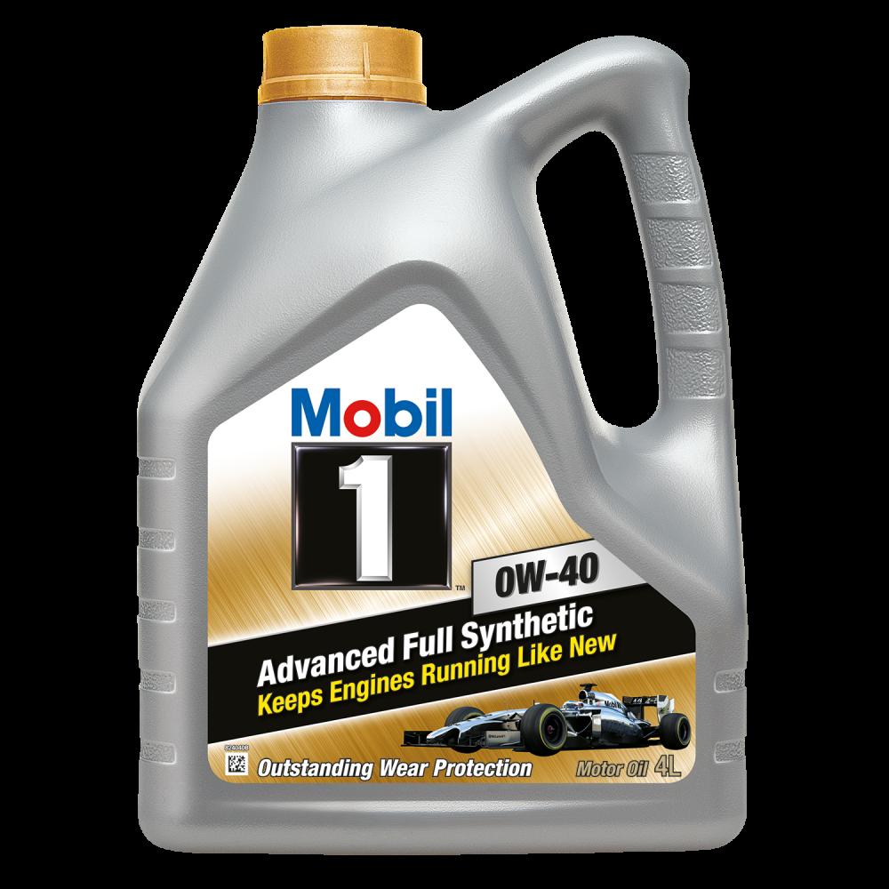 Моторное масло Mobil 1 0w40 4 литра 00023