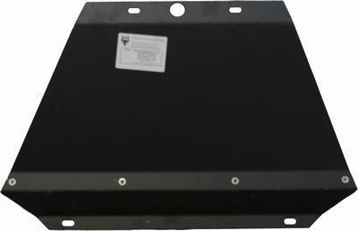 Защита радиатора для Nissan Navara D40 до 2009г 00220