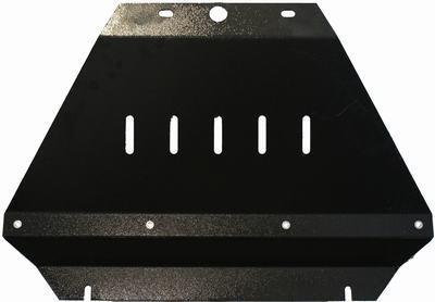 Защита радиатора для Nissan Navara D40 от 2010г 00225