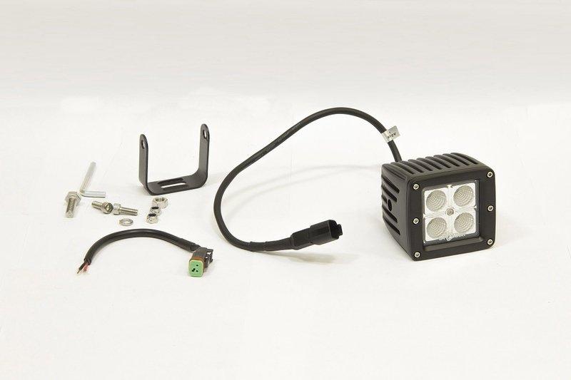 Фара дополнительная светодиодная прямоугольная рабочего света 12 Вт, 45 градусов. (СТОКРАТ) 00504