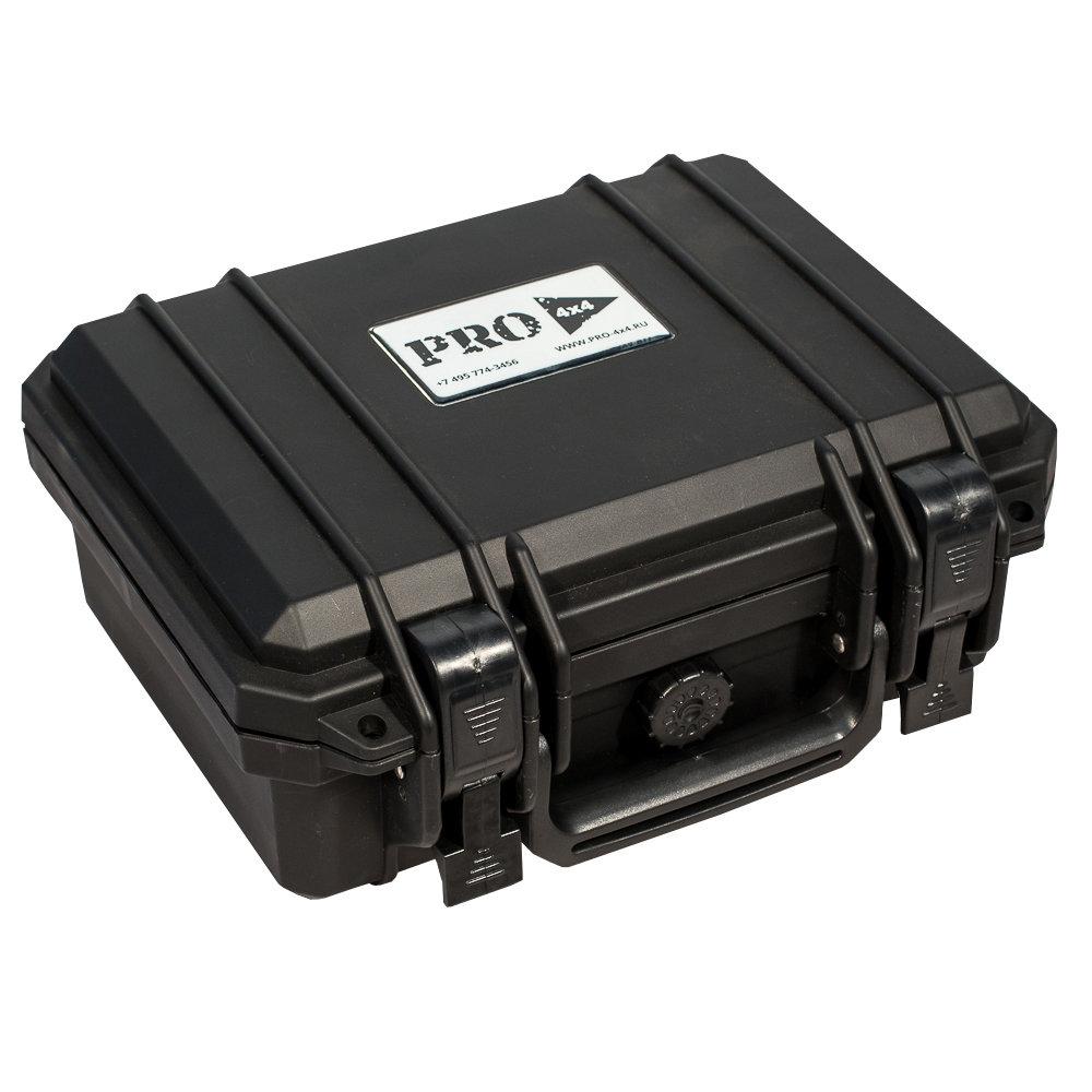 Кейс №1 противоударный PRO-4x4 ЧЕРНЫЙ (280x230x124мм) 00527