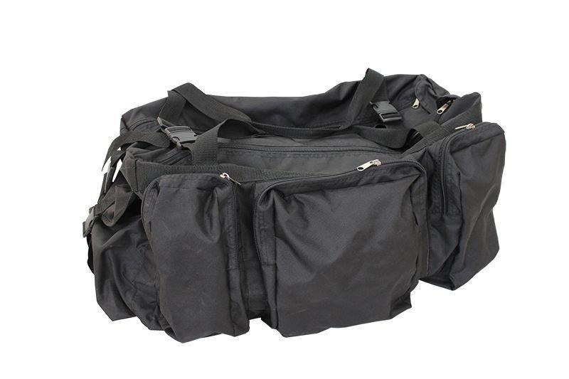 Сумка - офицерская 100л, цвет-чёрная, Oxford PU 600 00622