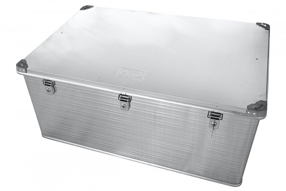 Ящик алюминиевый РИФ усиленный с замком 1176х790х517 мм (ДхШхВ) 00633