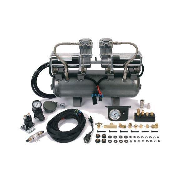 Ресивер 7,5 л в сборе с 2-мя компрессорами 380С 55% 00676