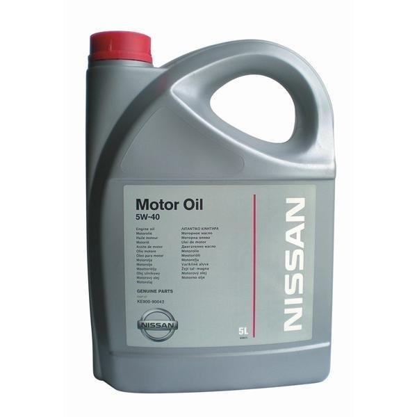 Nissan Motor Oil 5w40 5л 01584
