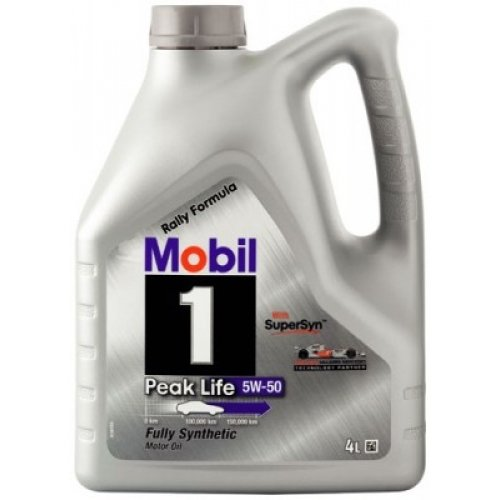 Mobil Peak Life 5w50 4л 01603