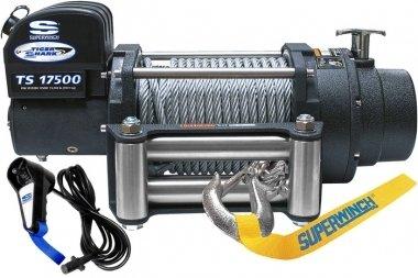 Лебедка электрическая Tigershark 17500 (12В) 01643