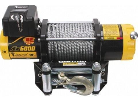 Лебедка автомобильная электрическая T-MAX ATW-6000 OFF-ROAD Improved 12В 01646