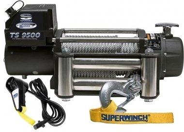 Лебедка автомобильная электрическая SW Tigershark 9500 (4300 кг.) 01657