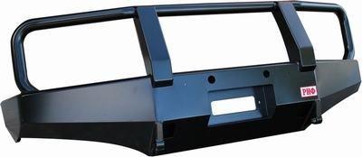Бампер передний силовой для Nissan Navara D40/Pathfinder R51 РИФ с кенгурином 01664