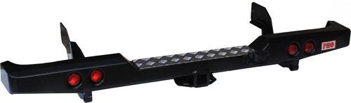 Бампер задний силовой с квадратом и фонарями РИФ Ford Ranger 12- 01812