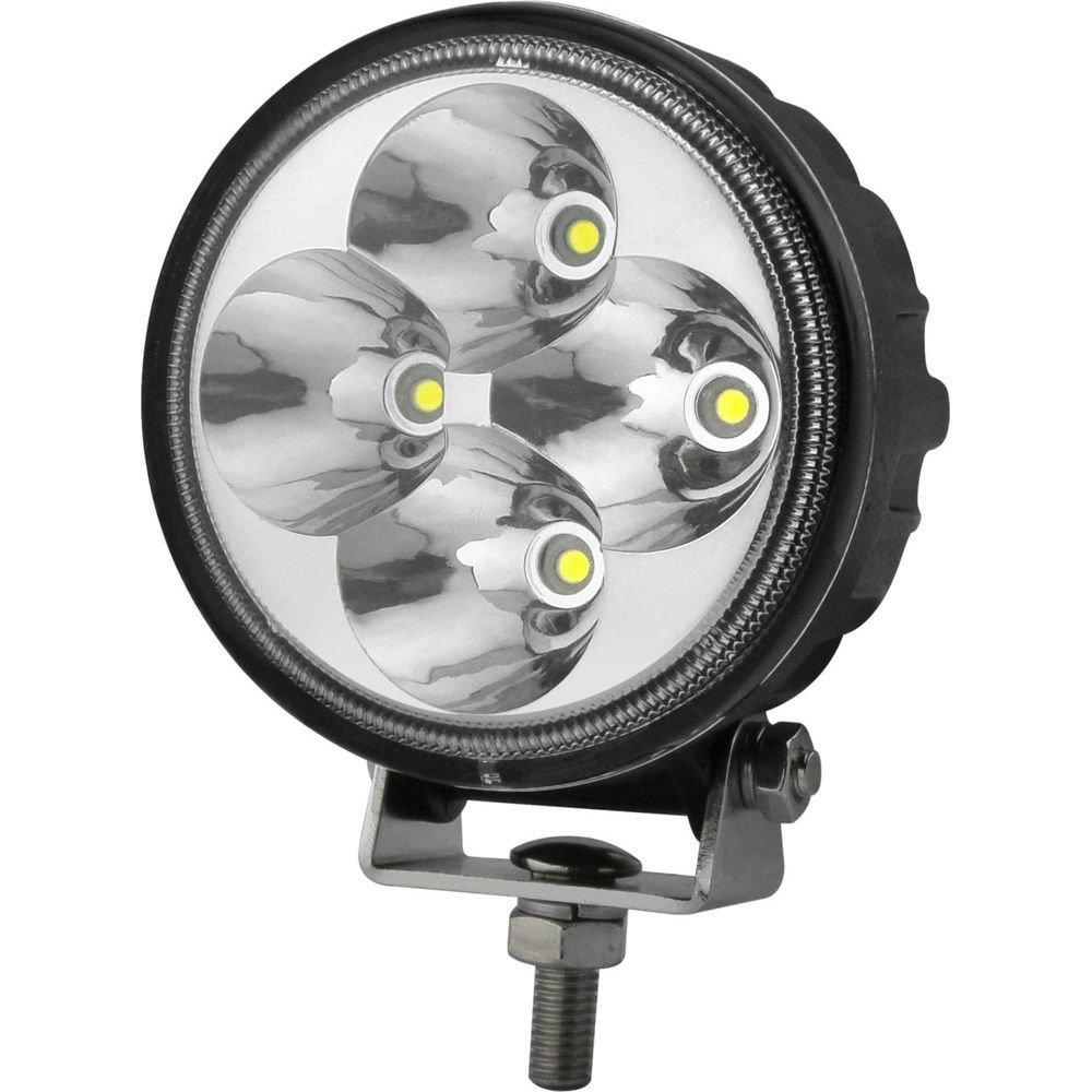 Фара дальнего света РИФ 83 мм 12W LED (для пер. бамперов РИФ) 02368