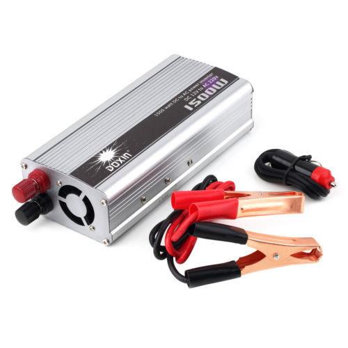 Преобразователь напряжения (инвертор) DOXIN 12В>220В, 1500Вт 02430