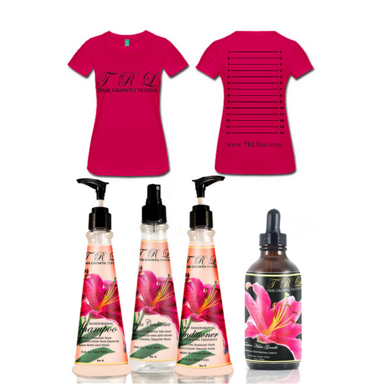 Healthier Hair Care and Growth Challenge Package