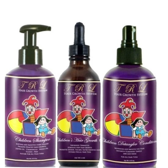 Sensitive Children's Hair Care & Growth Treatment