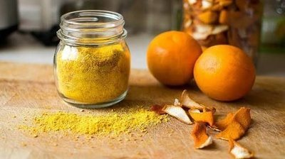 Dried Orange Peel Facial Masque