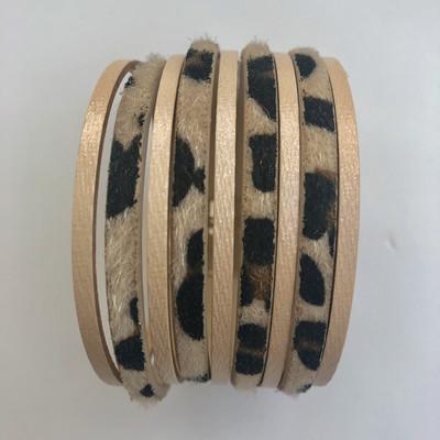 Leopard Wide Cuff