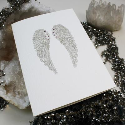 Wings, Hope & Protection Card