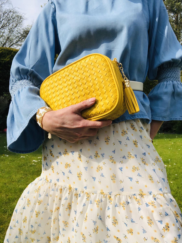 Careen Camera Bag Yellow