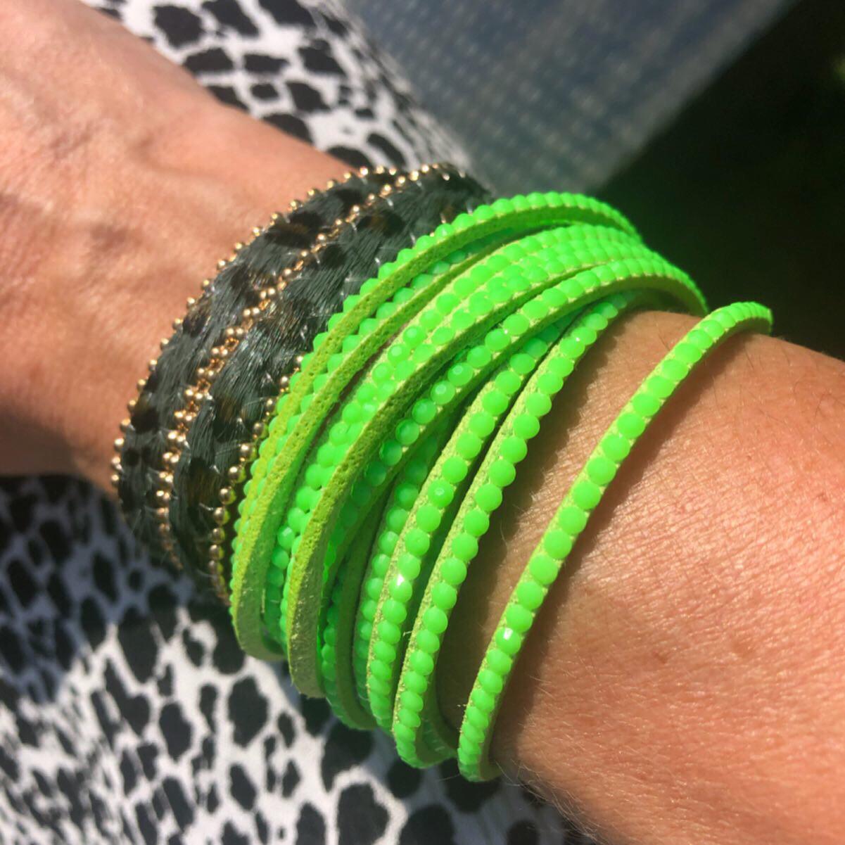 Neon Green Wrap