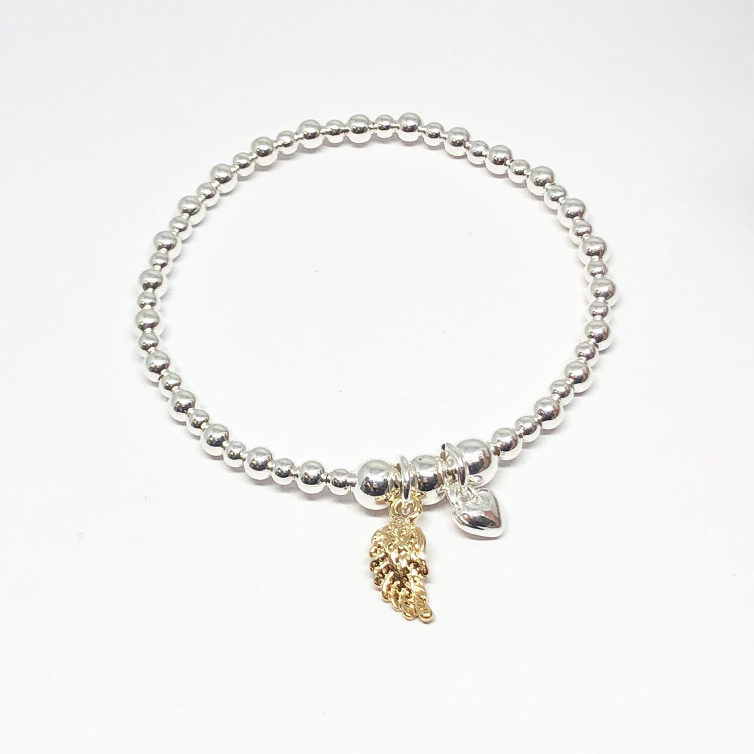Sophia Angel Wing Bracelet