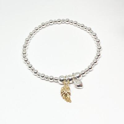 Sophia Angel Wing Bracelet