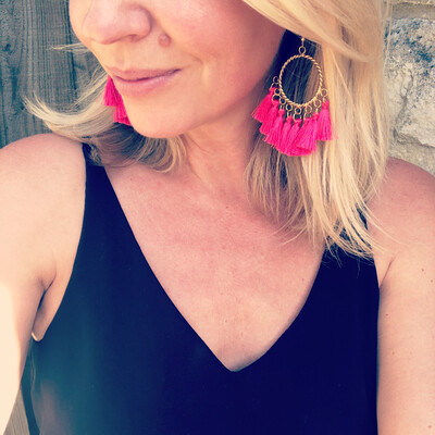 Hattie Tassel Earrings