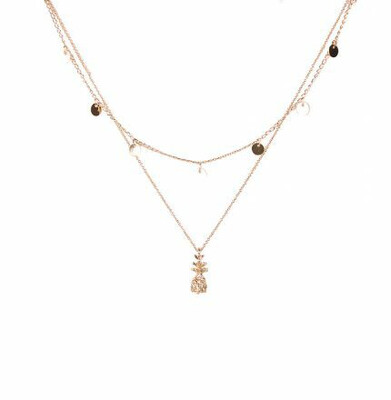 Summer Sweetness Necklace Gold
