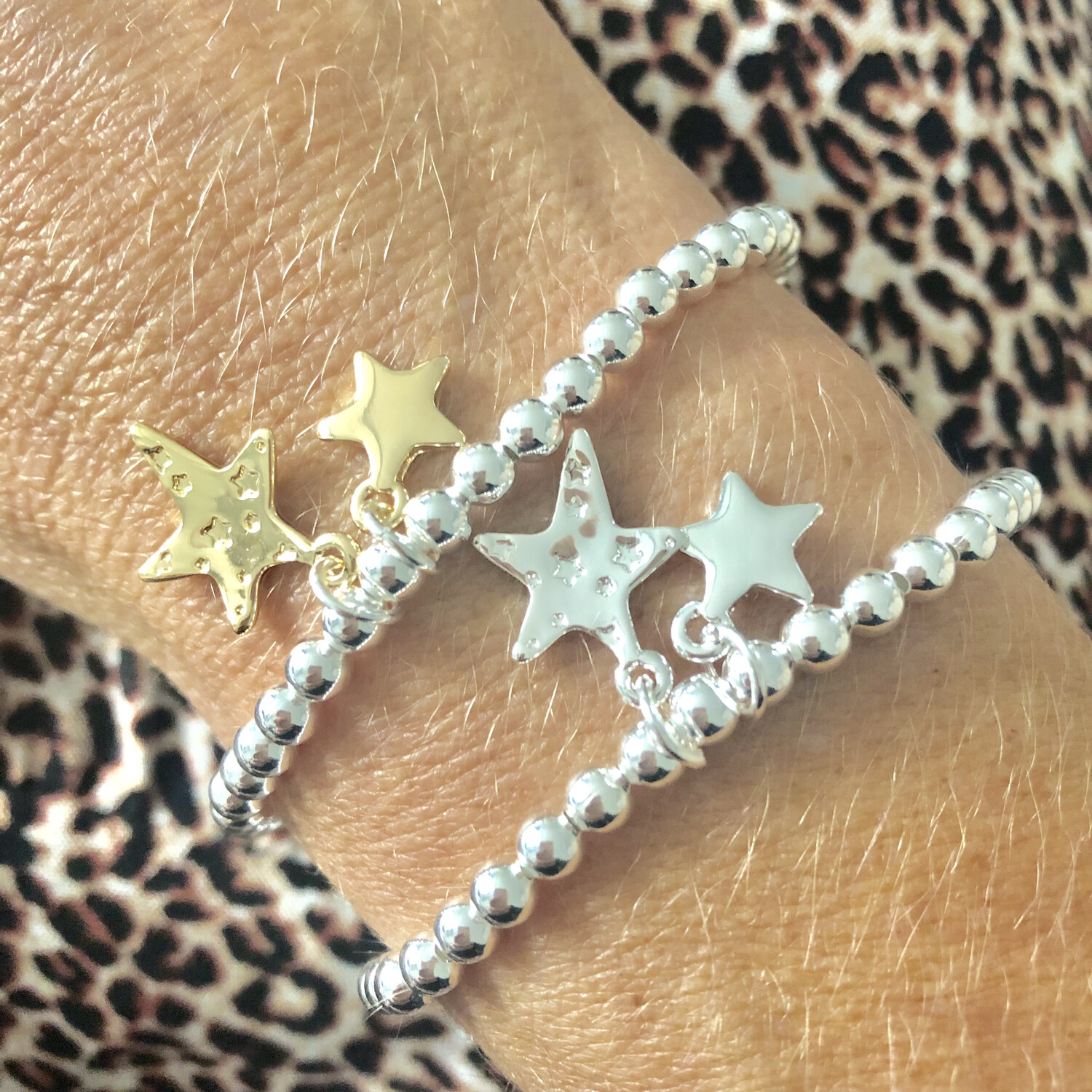 Gracie Star Bracelet Gold Star