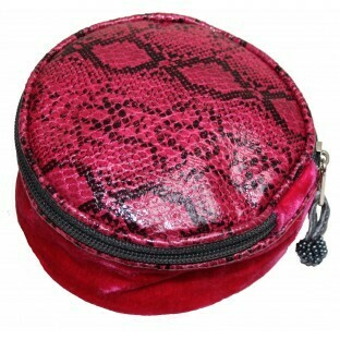Jewellery Pouch Hot Pink