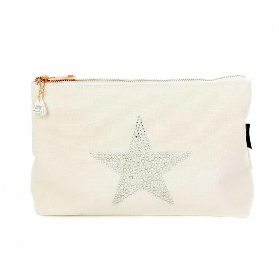 Crystal Star Make Up Bag - LARGE