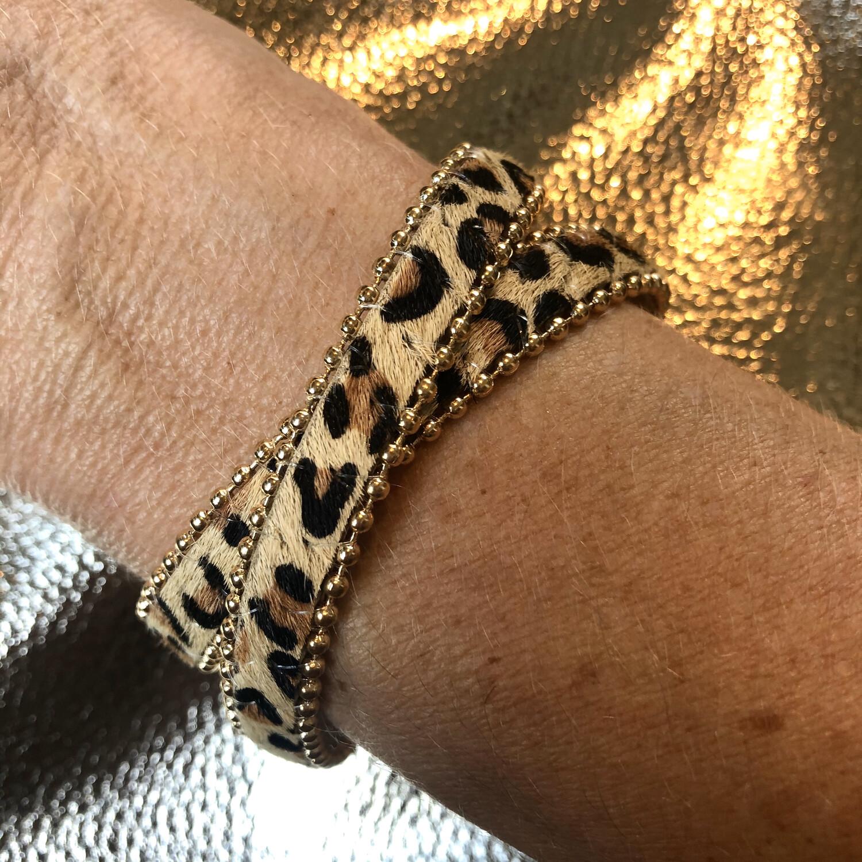 Leopard Popper Wrap