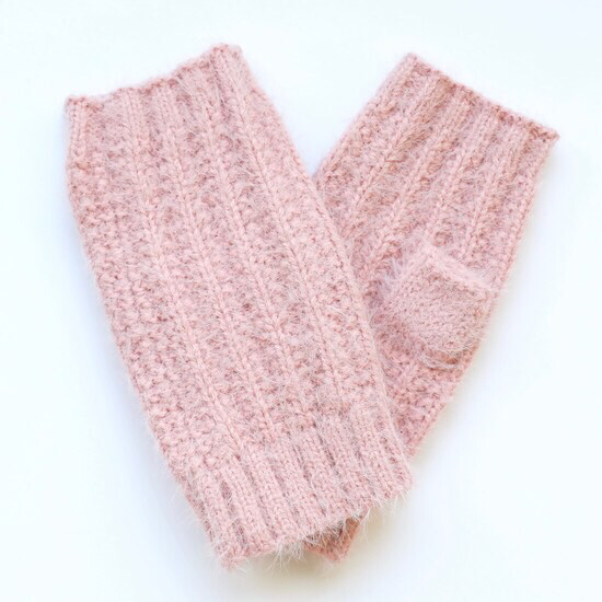 Super soft Pink Hand warmers